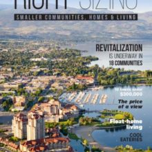 Right Sizing Magazine Features Osoyoos BC